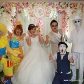 ตัวตลกโบโซ่ งานแต่งงาน สโมสรตำรวจ วันที่ 30 พ.ค.2558