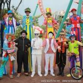 """ตัวตลกโบโซ่ งานต้อนรับเทศกาล""""BIG OCTOBER"""" วันที่ 10 ต.ค.58"""