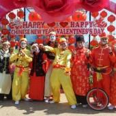 ตัวตลกโบโซ่ชุดจีน งานตรุษจีนภูเก็ต วันที่ 13-15 ก.พ.59(รวม 3 วัน)