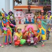 """ตัวตลกโบโซ่ งานต้อนรับเทศกาล""""BIG OCTOBER"""" วันที่ 9 ต.ค.59"""